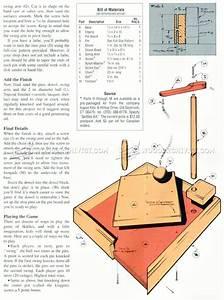 Table Skittles Plans • WoodArchivist
