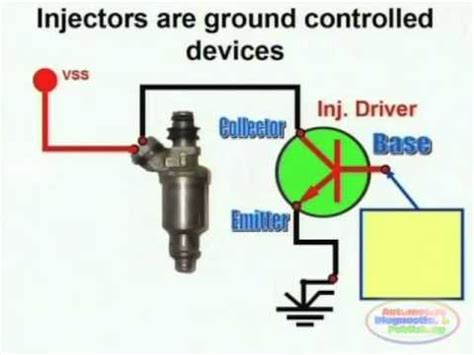 injector circuit wiring diagram youtube