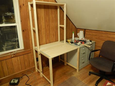 Ikea Schreibtisch Hack by Ikea Hack Desk Office Rev 12 27 2014