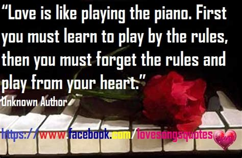 love   playing  piano love quotes  songs