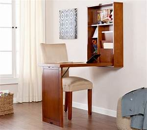 Folding Wall Table Ideas to Save Precious Spaces in Tiny