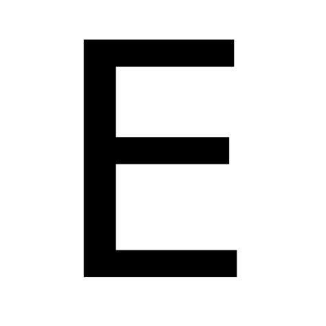 letter e file lettere svg wikimedia commons