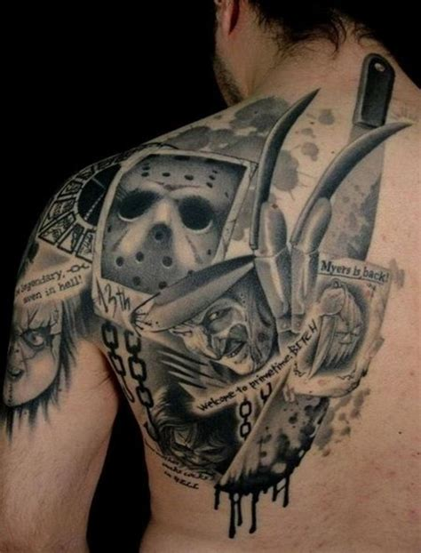 Best Horror Tattoo Ideas And Images On Bing Find What Youll Love