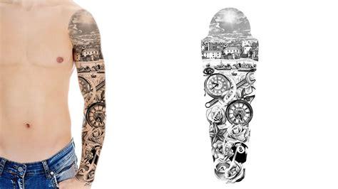 Custom Tattoo Sleeve Designs