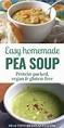 Easy & Delicious Homemade Split Pea Soup Recipe ...