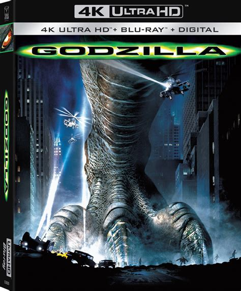 godzilla 1998 cover godzilla 1998 stomping to 4k ultra hd this summer