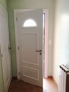 remplacement en renovation d39une porte d39entree en With isolant phonique porte d entrée