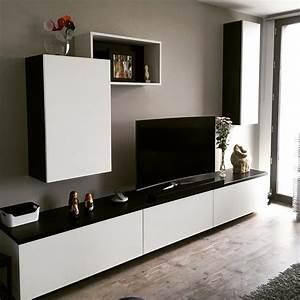Meuble Noir Et Blanc Maison Design
