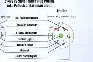 7 Pin Trailer Plug Wiring Schematic