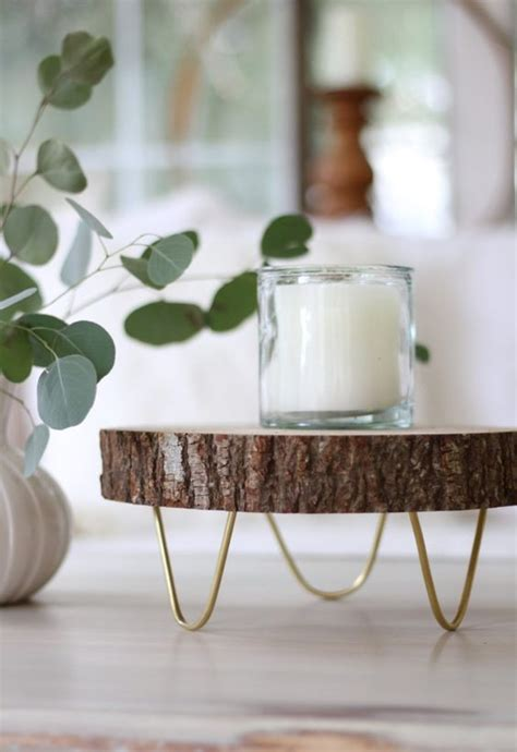 wood slice home decor ideas shelterness