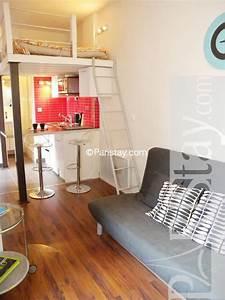 Studio Mezzanine Paris : furnished studio apartment paris place des vosges 75004 paris ~ Zukunftsfamilie.com Idées de Décoration