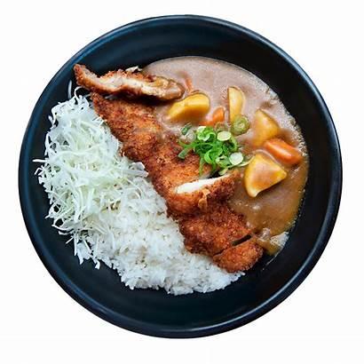 Rice Katsu Chicken Bowl Curry Bowls
