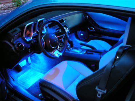 blue glow interior decorative lamp  car  truck