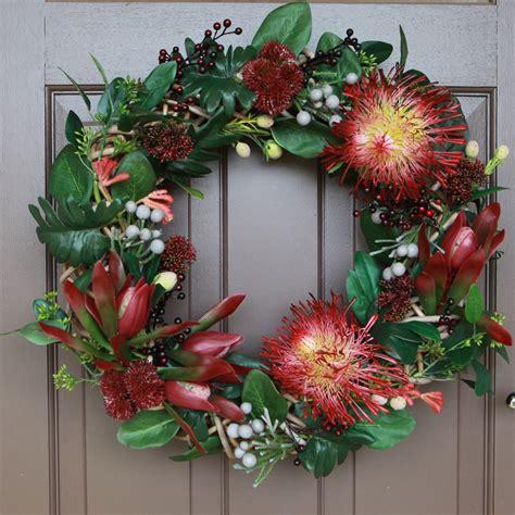 artificial australian native christmas wreath artificial floral wreath wreath wreath wedding