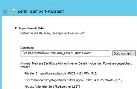 active directory zertifikatsdienste ad cs extended
