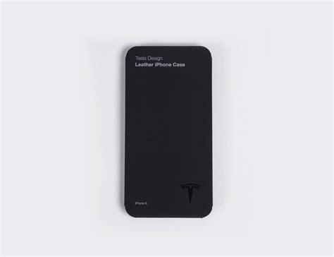 tesla iphone tesla gear leather iphone 187 gadget flow