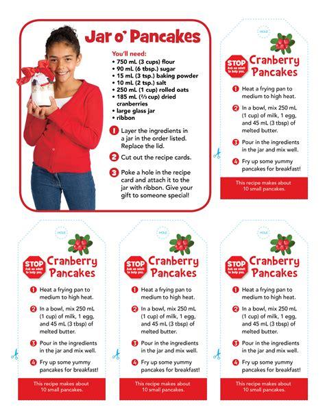 Owlkids Chickadee Jar O Pancakes Recipe Cards Owlkids