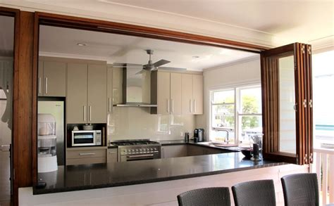 Allkind Joinery Email by Allkind Joinery Cabinetry Bi Fold Windows Open Out