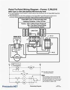 Square D Mechanically Held Lighting Contactor Wiring Diagram