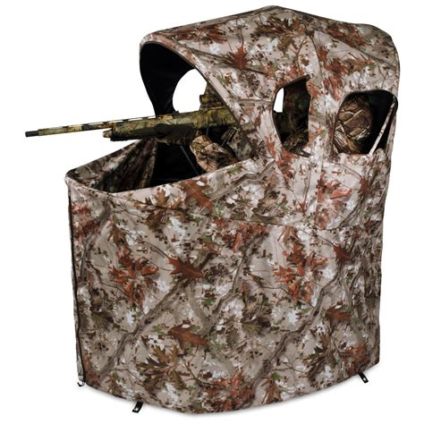 Ameristep Tent Chair Blind by Ameristep 174 Chair Blind Tangle 2 0 Camo 213447 Ground