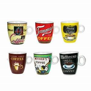 Service Tasse à Café : tasse caf old school porcelaine 3020660 r ception ~ Teatrodelosmanantiales.com Idées de Décoration
