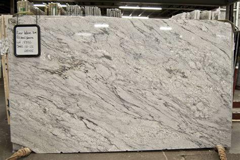 Level 1 Granite Countertop Colors by River White Granite On Quartz Kitchen
