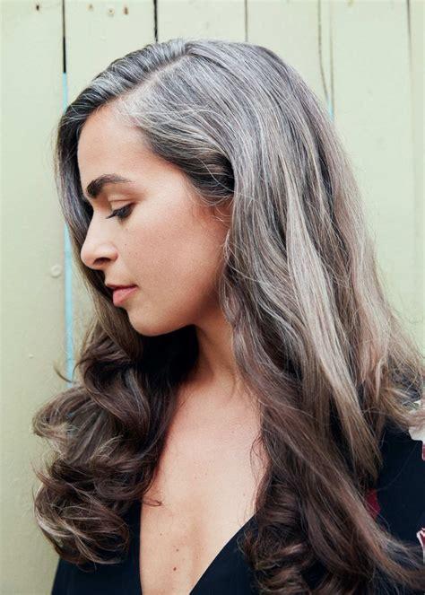 gorgeous gray hair images  pinterest grey