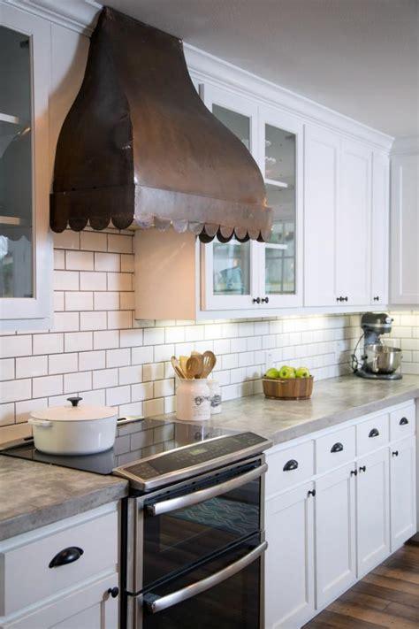 kitchen  copper vent hood hgtv
