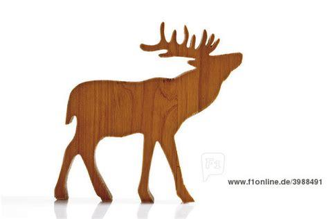 Braunes Rentier, Elch, Dekofigur Aus Holz