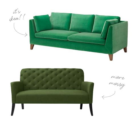 green settee go for the green sofa coco kelley bloglovin