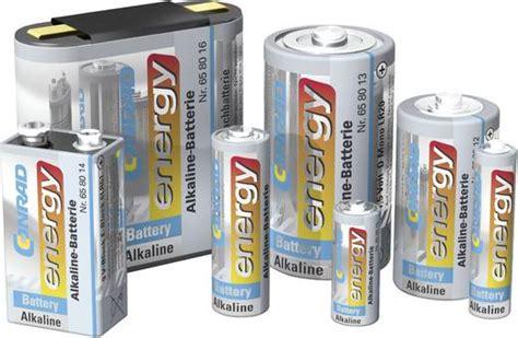 mono  batterie alkali mangan conrad energy lr