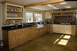Oak and Painted Country Kitchen Lovewood Kitchens