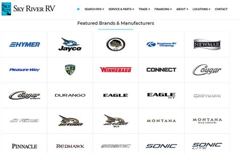 The Top 10 RV manufacturers that you need to know about.