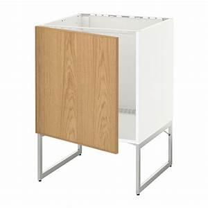 Ikea Spüle Mit Unterschrank : metod unterschrank f r sp le wei ekestad eiche ikea ~ Watch28wear.com Haus und Dekorationen