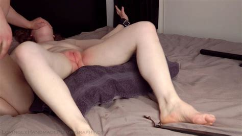 hooded and whipped on her cunt lovingly handmade pornography