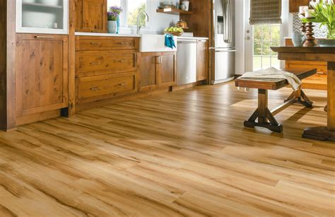 armstrong vinyl plank flooring armstrong luxury vinyl plank flooring lvp wood look kitchen dining ideas