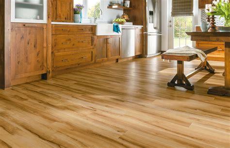 armstrong luxury vinyl plank flooring lvp wood look kitchen dining ideas - Armstrong Vinyl Plank Flooring