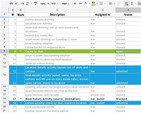 issue tracking template excel my minimalistic agile issue tracker