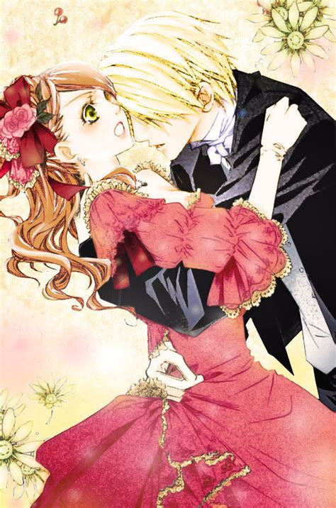 hakushaku to yousei images edgar and lydia colored scan hd
