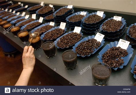 Samples Of Freshly Roasted Coffee Bean Wait To Be Tested Intelligentsia Coffee And Tea Community Promo Code Hot Types Download Expression Ratings Store Locator Nitro