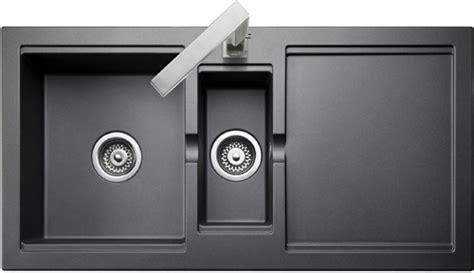 bowl granite pewter finish kitchen sink reversible