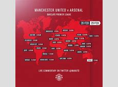 Manchester United vs Arsenal predicted lineups and team