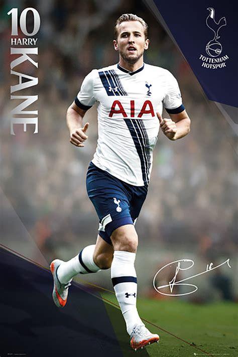 tottenham hotspurs kane official soccer player poster