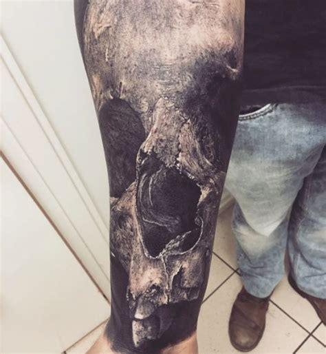 skull tattoo realistic  tattoo ideas gallery