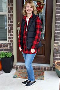 One Red Plaid Button Up Shirt + 3 Ways to Wear It | Mom Fabulous