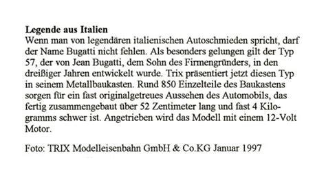 0 results for trix bugatti. 1977-1998