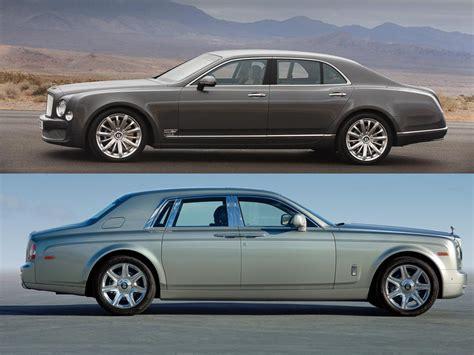 Rolls Royce Vs Bentley by Rolls Royce Phantom Vs Bentley Mulsanne 2017 Ototrends Net