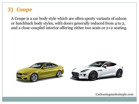 Explanation About Different Car Body Styles