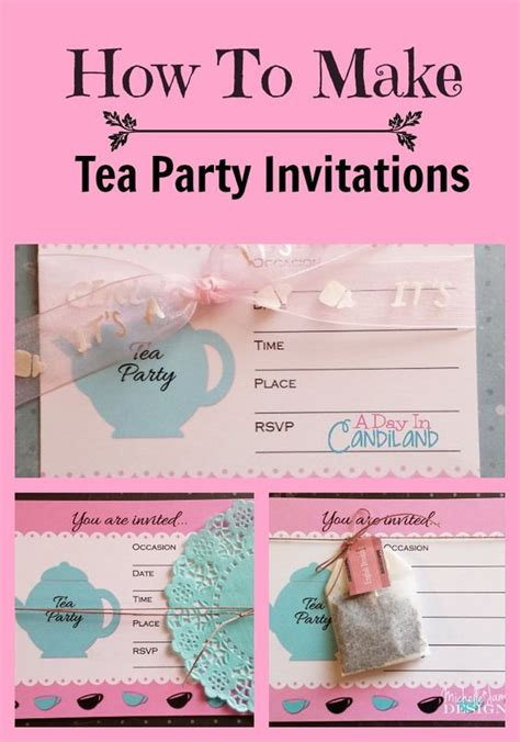 Paper bags Days in and Tea parties on Pinterest