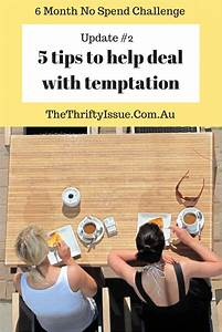 5 tips to help deal with temptation - 6 Month No Spend ...